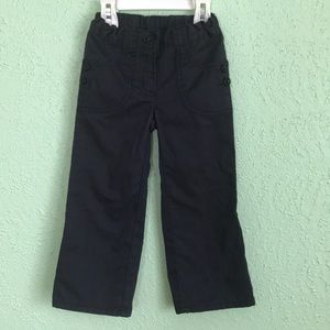 Girl's Navy Blue Gymboree Convertible Pants